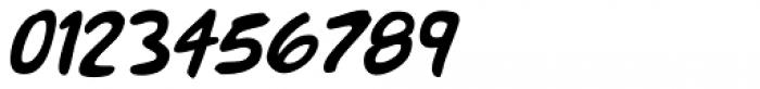 Mr. Brunch FT Oblique Font OTHER CHARS