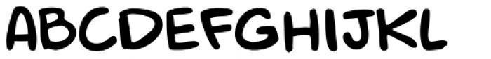 Mr. Brunch FT Regular Font UPPERCASE