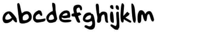 Mr. Brunch FT Regular Font LOWERCASE