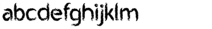 Mr Chalk Font LOWERCASE