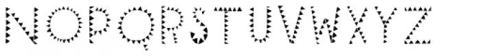 Mr Cyrk Fill One Font LOWERCASE