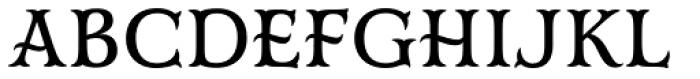 Mr Darcy Medium Font UPPERCASE