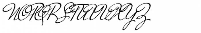 Mr De Haviland Pro Font UPPERCASE