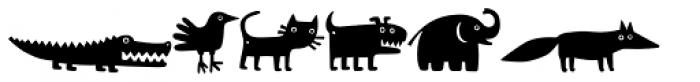 Mr Dog Dog Font LOWERCASE