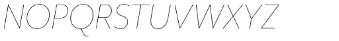 Mr Eaves Mod Thin Italic Font UPPERCASE