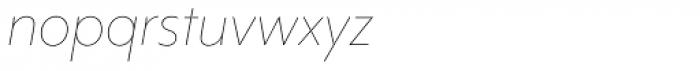 Mr Eaves Mod Thin Italic Font LOWERCASE