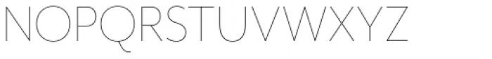Mr Eaves Mod Thin Font UPPERCASE