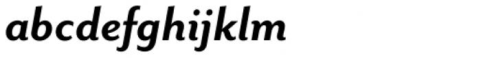 Mr Eaves Sans Bold Italic Font LOWERCASE