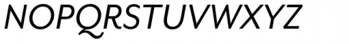 Mr Eaves Sans Italic Font UPPERCASE