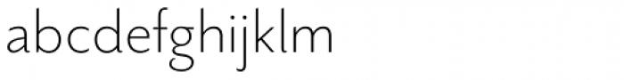 Mr Eaves Sans Light Font LOWERCASE