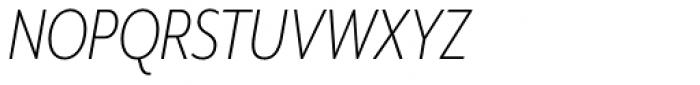 Mr Eaves XL Modern Nar Light Italic Font UPPERCASE