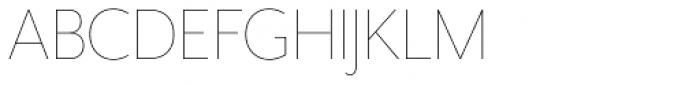 Mr Eaves XL Sans Thin Font UPPERCASE