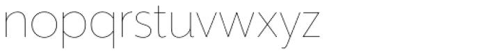Mr Eaves XL Sans Thin Font LOWERCASE