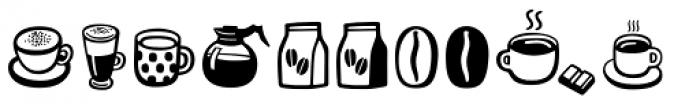 Mr Foodie Beverages Font UPPERCASE