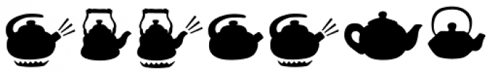 Mr Foodie Kitchen Back Font LOWERCASE
