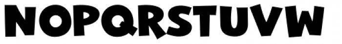 Mr. Jenkins ExtraBold Font UPPERCASE