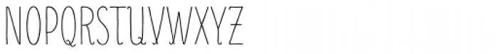 Mr Moustache Display Unicase Font UPPERCASE