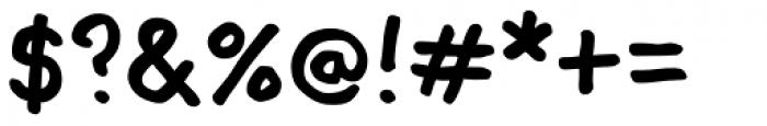 Mr Orange Font OTHER CHARS