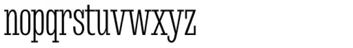 Mr Palker Dad Condensed Light Font LOWERCASE