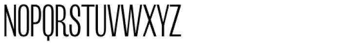 Mr Palker Dadson Condensed Light Font UPPERCASE