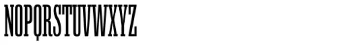 Mr Palker Ultracondensed Regular Font UPPERCASE