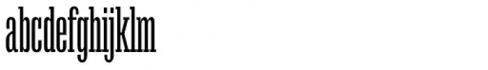 Mr Palker Ultracondensed Regular Font LOWERCASE