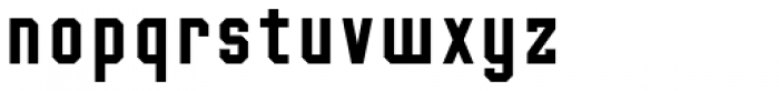 Mr Robot Font LOWERCASE