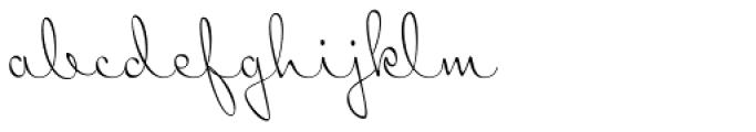 Mr Sopkin Font LOWERCASE