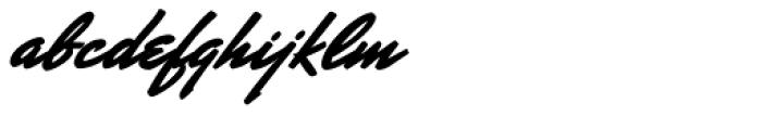 Mr Stalwart Font LOWERCASE