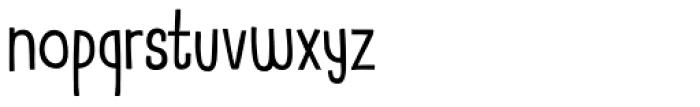 Mr Stickman Font LOWERCASE
