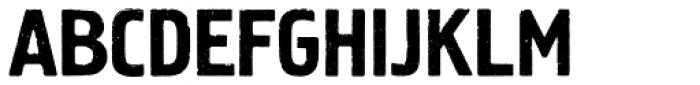 Mr Tiger Font UPPERCASE
