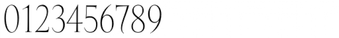 Mramor Light Pro Font OTHER CHARS