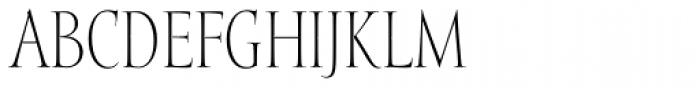 Mramor Light Pro Font UPPERCASE