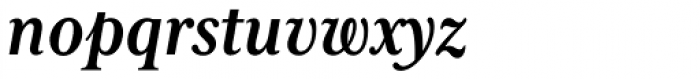 Mrs Eaves XL Serif Nar Bold Italic Font LOWERCASE