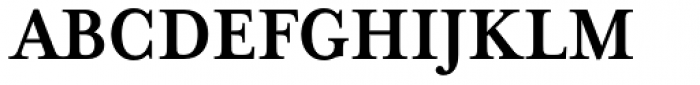 Mrs Eaves XL Serif Nar Bold Font UPPERCASE
