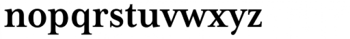 Mrs Eaves XL Serif Nar Bold Font LOWERCASE