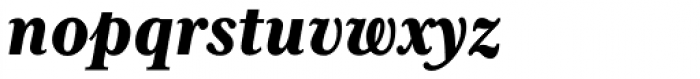Mrs Eaves XL Serif Nar Heavy Italic Font LOWERCASE