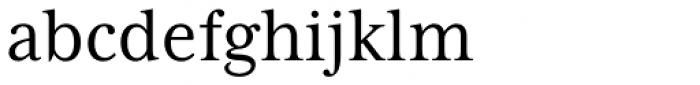 Mrs Eaves XL Serif Nar Reg Font LOWERCASE