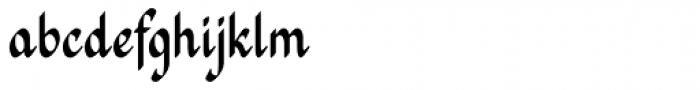 Mrs Grey Font LOWERCASE