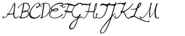 Mrs Lolita Font UPPERCASE