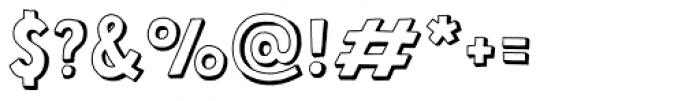 Mrs Lollipop 3D Font OTHER CHARS