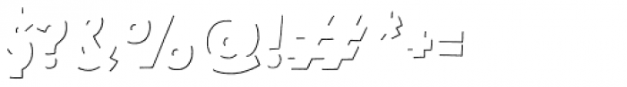 Mrs Lollipop Stroke Font OTHER CHARS
