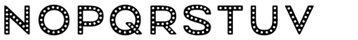Mrs Onion Dotted Font UPPERCASE