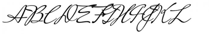 Mrs Saint-Delafield Pro Font UPPERCASE