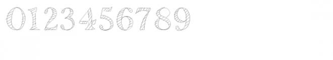 mr. stripey font Font OTHER CHARS