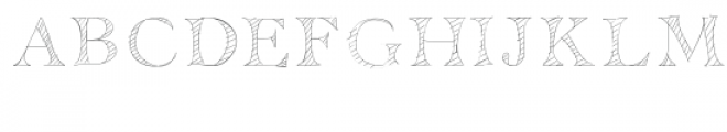 mr. stripey font Font UPPERCASE