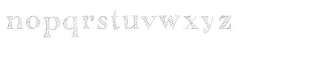 mr. stripey font Font LOWERCASE