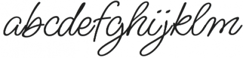MsMadi ROB otf (400) Font LOWERCASE