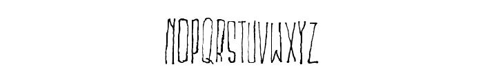 MSKITOKILLA Font UPPERCASE