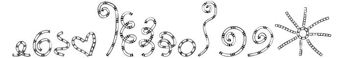 MTF Chunkie Doodle Font UPPERCASE